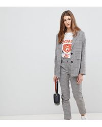 Daisy Street - Blazer In Prince Of Wales Check - Lyst