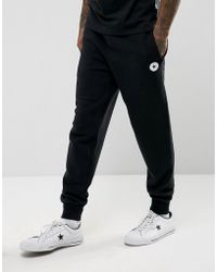 Converse - Chuck Patch Joggers In Black 10004631-a04 - Lyst