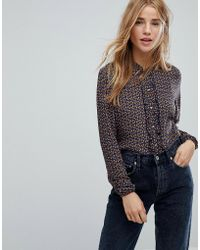 Esprit - All Over Winter Ditsy Floral Shirt - Lyst