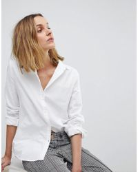 Pieces - Oxford Shirt - Lyst