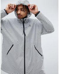 adidas Originals - Plgn Oversized Windbreaker Jacket In White Cw5102 - Lyst