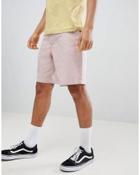 ASOS - Skater Shorts In Ice Pink - Lyst