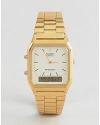 G-Shock - Aq-230ga-9dmqyes Digital Bracelet Watch - Lyst