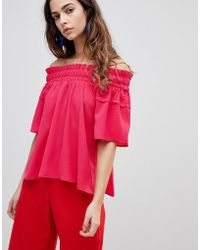 Y.A.S - Fraya Off The Shoulder Top - Lyst