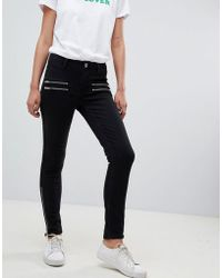 2nd Day - 2ndday Skinny Jeans With Zip Detail - Lyst
