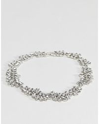 Coast - Crystal Necklace - Lyst