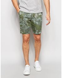 Minimum - Floral Shorts - Lyst