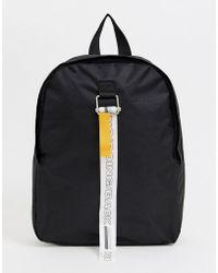 9b107d53118b Lyst - Original Penguin Twin Strap Pearl Backpack in Black for Men