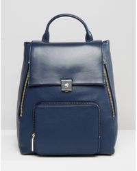 Modalu - Large Leather Backpack - Lyst