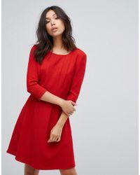 BOSS Orange   Pleat Front Dress   Lyst