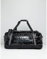 Patagonia - Black Hole Duffle In Black 90l - Black - Lyst