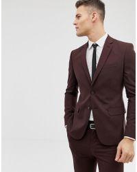 New Look - Veste de costume slim - Lyst