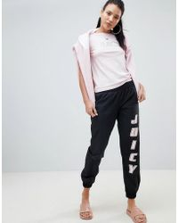 Juicy Couture - Juicy By Logo Joggers - Lyst