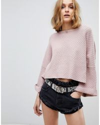 Free People - I Cant Wait Jumper - Lyst