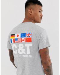 Cheats & Thieves - Nations Back Print T-shirt - Lyst