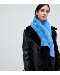 Missguided - Colour Block Stole In Multi - Lyst