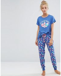 For Cheap Price Chelsea Peers Cheslea Peers Stripped Novelty Long Pyjama Set Cheap Wholesale Cheap Sale Low Price Fee Shipping Low Cost Collections Sale Online Z7ejsme9o