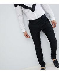 Heart & Dagger - Skinny Trousers In Linen - Lyst
