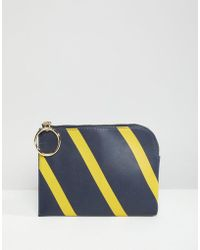 French Connection - Oakley Striped Purse - Lyst