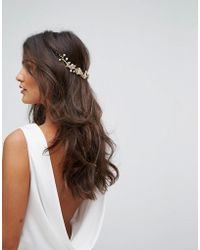 LoveRocks London - Flower Cluster Hair Drape - Lyst