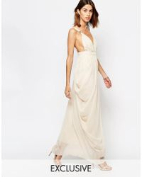 937351ee2367 Felicity & coco &39grecian&39 Jersey Maxi Dress in White Lyst