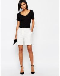 SELECTED - Leonora Tailored Shorts - Lyst