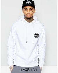 Hype - Hoodie With Crest Logo - Lyst
