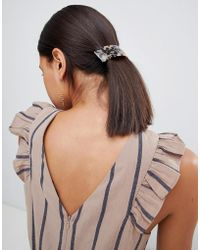 Stradivarius - Tortoise Hairclip - Lyst