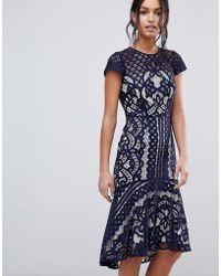 Coast - Dee Dee Lace Dress - Lyst