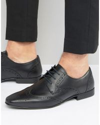 KG by Kurt Geiger - Kg By Kurt Geiger Kenford Brogue Derby Shoes - Lyst