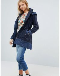 Pepe Jeans - Contrast Parka Coat - Lyst