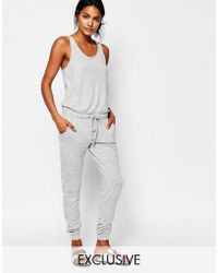 Nocozo | Sleeveless Jumpsuit With Drawstring Waist | Lyst