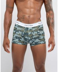 CALVIN KLEIN 205W39NYC - Trunks Modern Cotton In Camo Limited Edition - Lyst