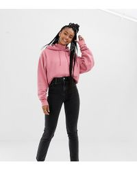 Collusion - X011 Slim Mom Jeans In Washed Black - Lyst
