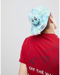 Volcom - Camper Tie Dye Baseball Cap - Lyst