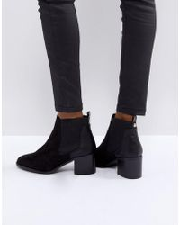 River Island | Heeled Chelsea Boot | Lyst