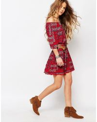 Hollister - Co-ord Skirt With Print - Lyst