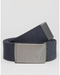 Fred Perry - Solid Webbing Belt - Lyst