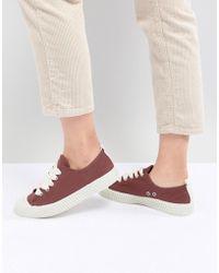 Pull&Bear - Baseball Sneaker In Red (join Life) - Lyst