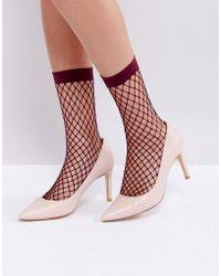 Dune - Pointed Toe Mid Heel Court Shoe - Lyst