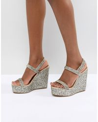ASOS - Happily Sandal Wedges - Lyst