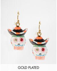 N2 - Colourful Skull Earrings - Lyst