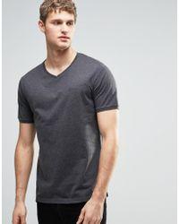 Firetrap - V Neck T-shirt - Lyst