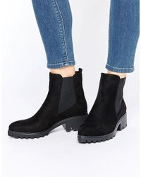 Lost Ink - Adle Point Cleated Chelsea Boots - Lyst