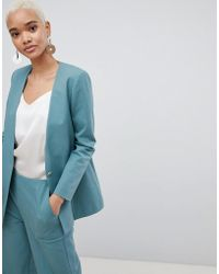 SELECTED - Femme 80's Blazer With Gold Button - Lyst