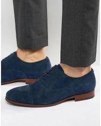 ALDO - Aalian Suede Oxford Shoes - Lyst