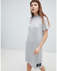 Cheap Monday - Smash High Neck T-shirt Dress - Lyst
