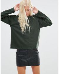 Minimum - Belli Zip Side Sweatshirt - Lyst