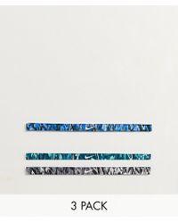 Nike - Confezione da 3 fasce stampate per capelli - Lyst
