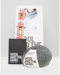 Wool And The Gang - Wool & The Gang Diy Lil Infinity Scarf Kit - Lyst